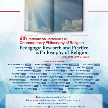 9th International Conference: Pedagogy in Philosophy of Religion
