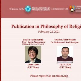 Workshop: Publication in Philosophy of Religion
